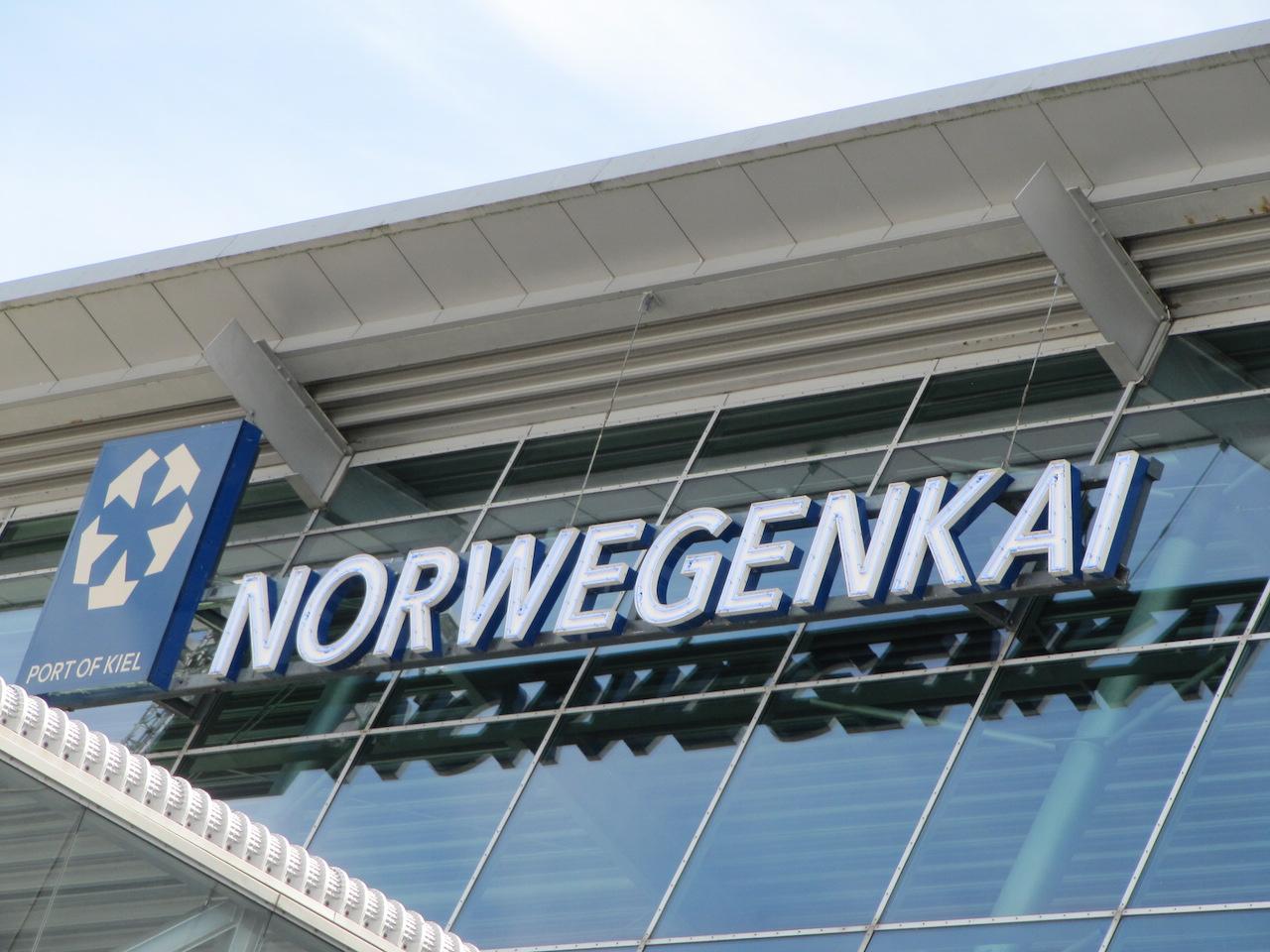 overzet Kiel — >Oslo