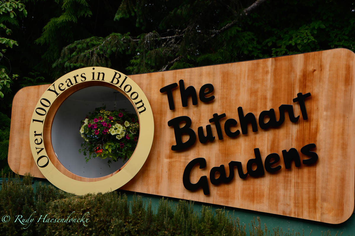 Butchart Gardens enoud-Victoria