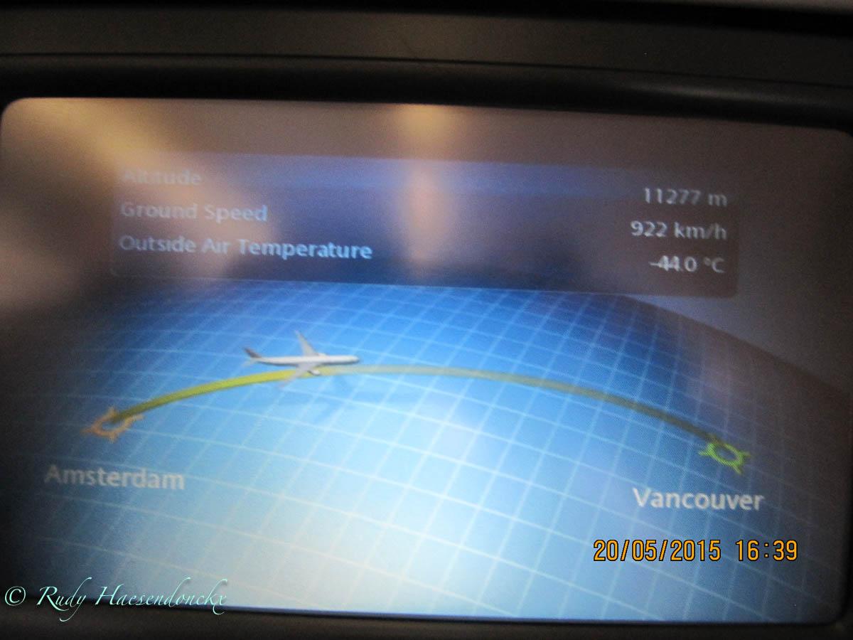 Vertrek naar Vancouver