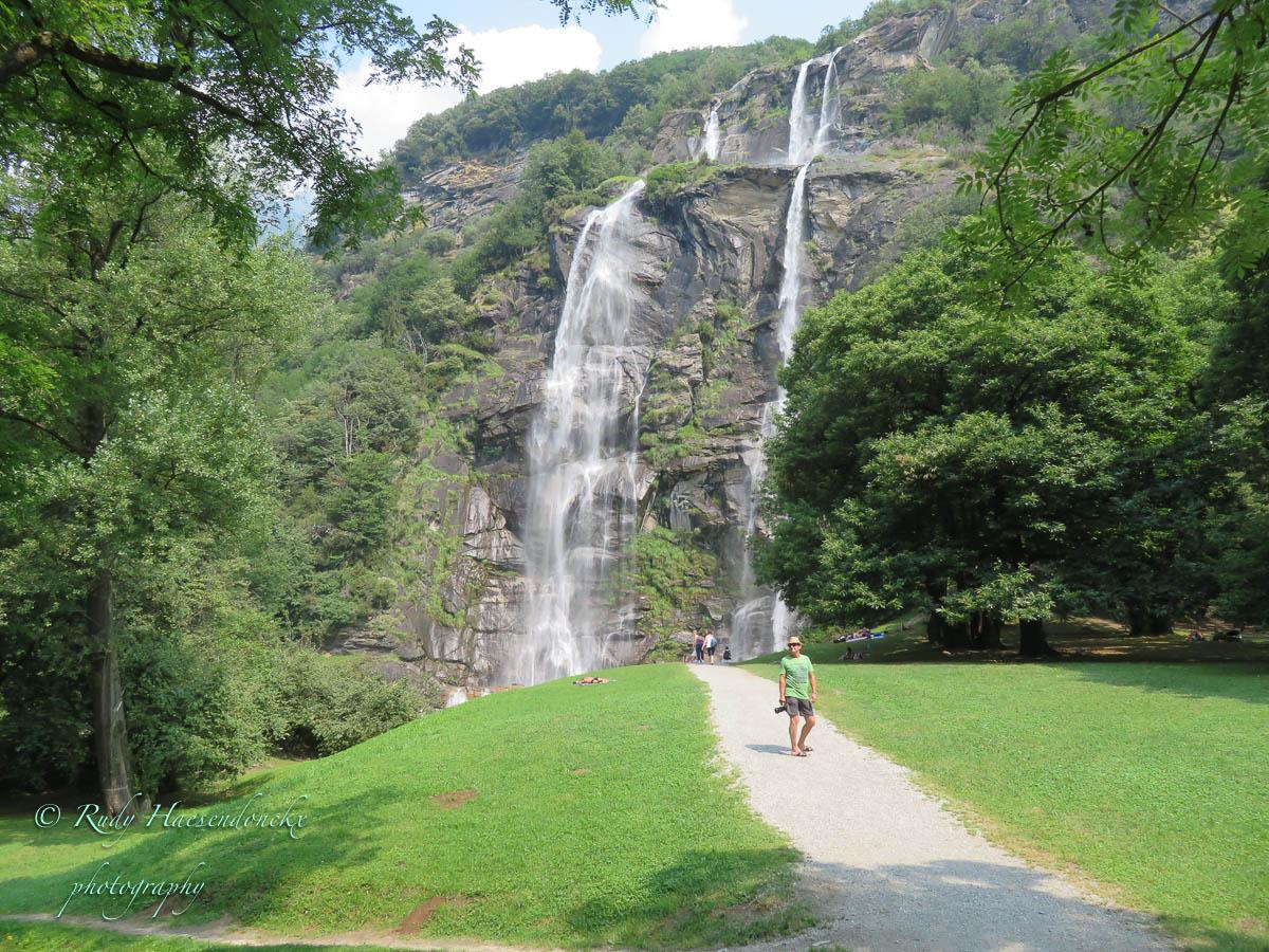 cascate dell' Acqua Fraggia a Savogno ( Chiavenna)